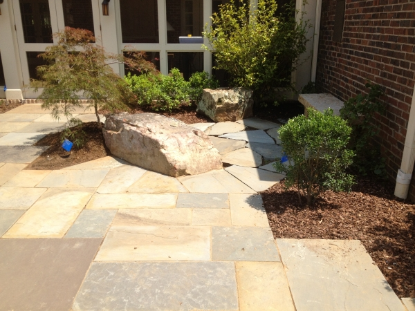 Natural Stone & Paver Patios